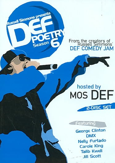 Russell Simmons Presents Def Poetry 6 (DVD)