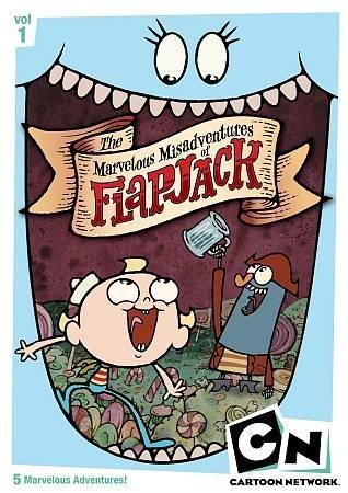The Marvelous Misadventures Of Flapjack: Volume 1 (DVD)