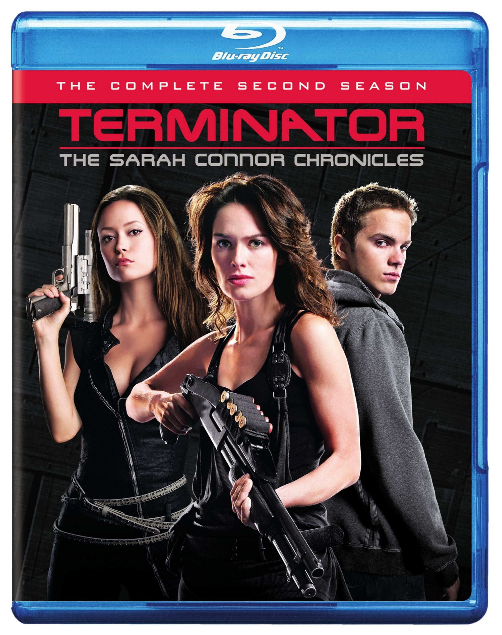 Terminator: The Sarah Connor Chronicles Complete Second Season (Blu-ray Disc)