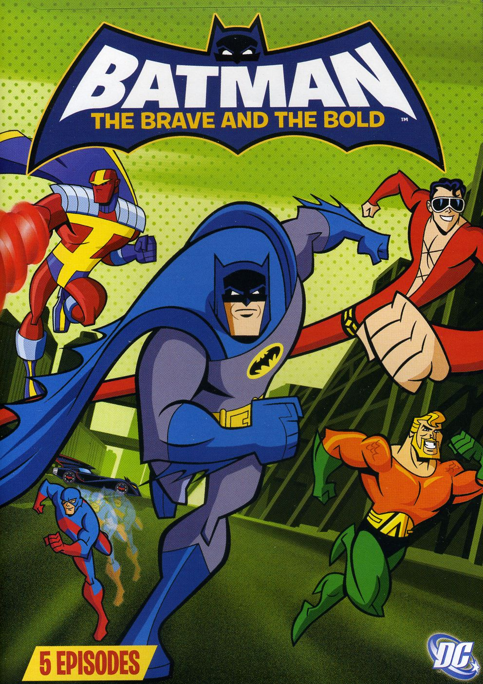 Batman: The Brave and the Bold Volume Three (DVD)