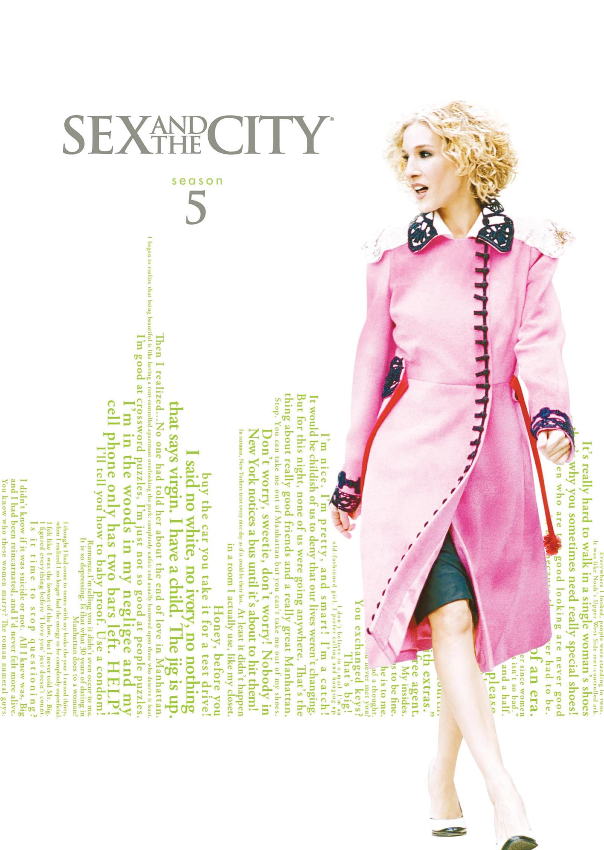 Sex and the City: The Complete Fifth Season (DVD) - Thumbnail 0