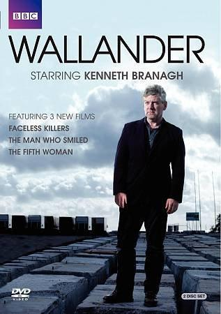 Wallander: Faceless Killers/The Man Who Smiled/The Fifth Woman (DVD)