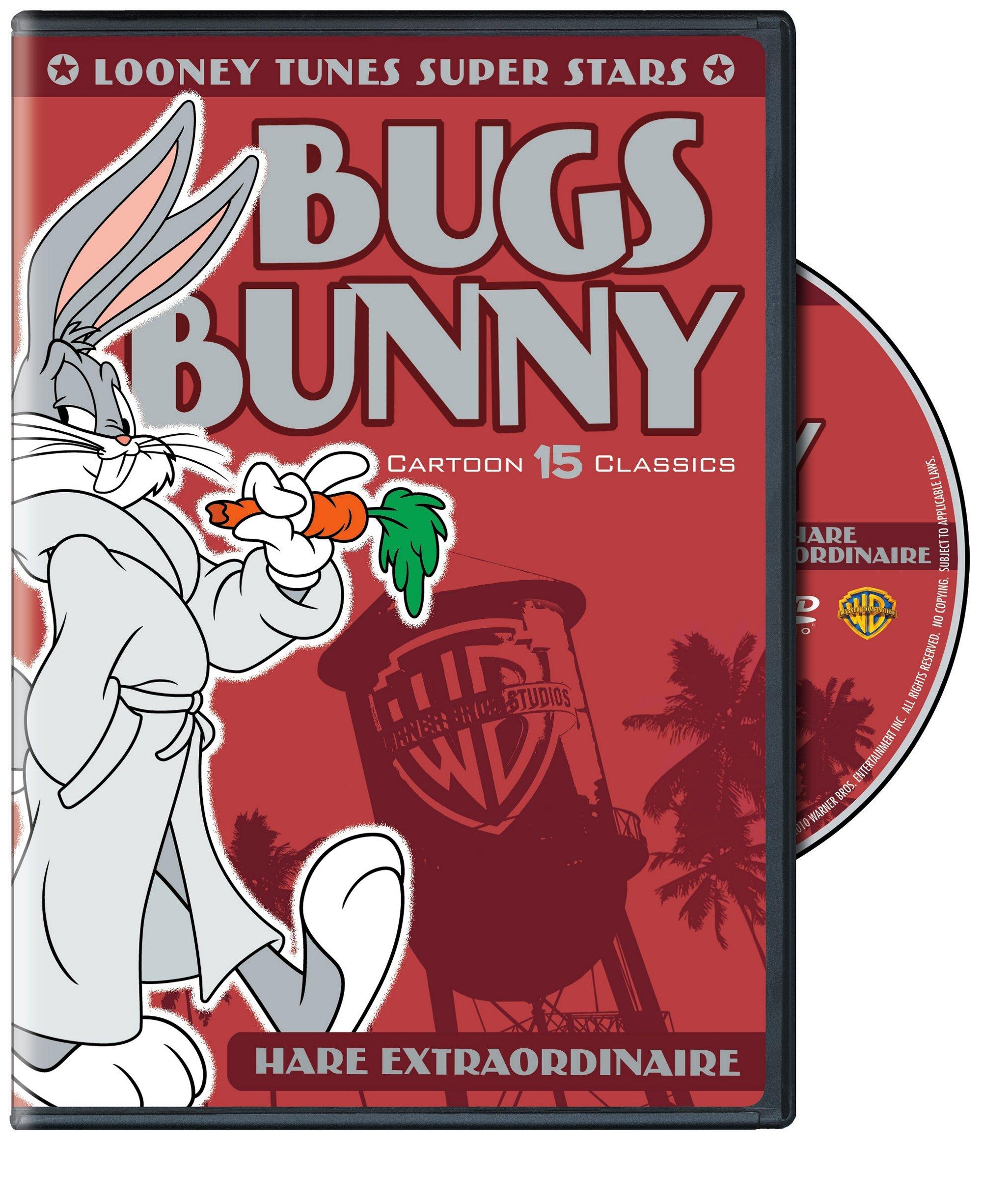 Looney Tunes Super Stars: Bugs Bunny Hare Extraordinaire (DVD)
