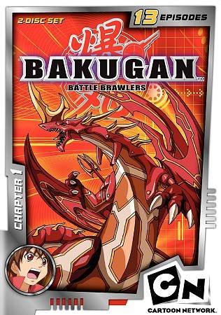 Bakugan Chapter 1 (DVD)