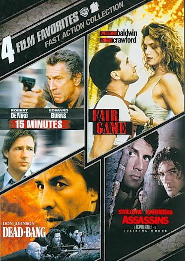 4 Film Favorites: Fast Action (DVD)