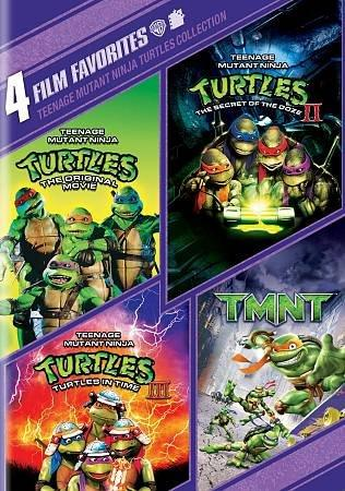 4 Film Favorites: Teenage Mutant Ninja Turtles (DVD)