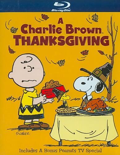 A Charlie Brown Thanksgiving (Blu-ray Disc)