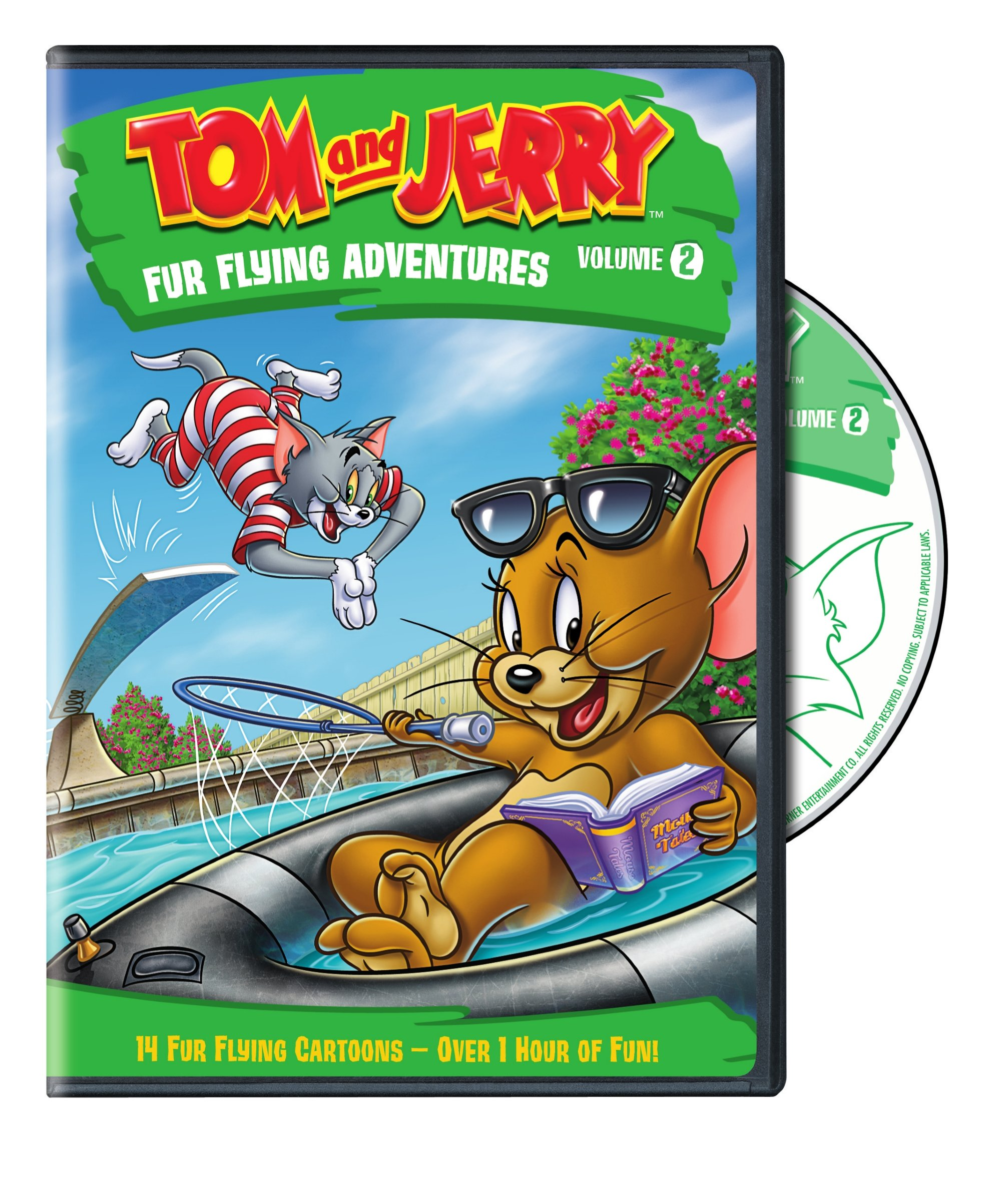 Tom and Jerry: Fur Flying Adventures Volume 2 (DVD)