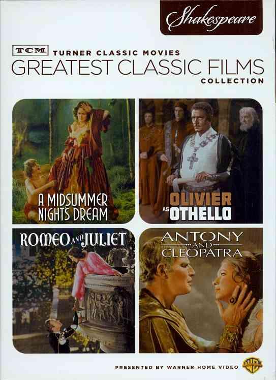 TCM Greatest Classic Films: Shakespeare (DVD)