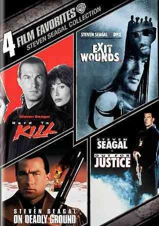 4 Film Favorites: Steven Seagal Action (DVD)
