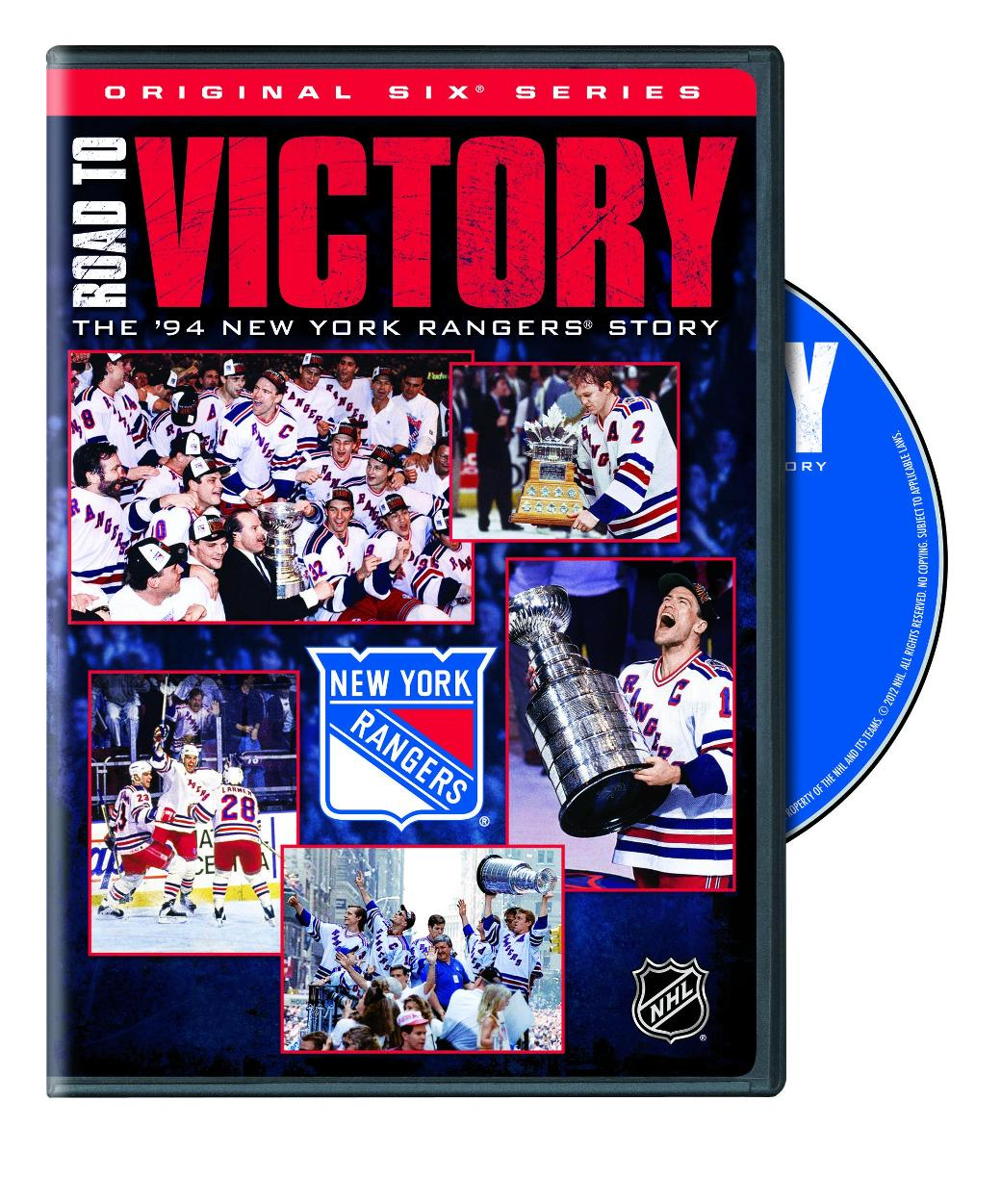 NHL Road To Victory: The New York Rangers Story (DVD)