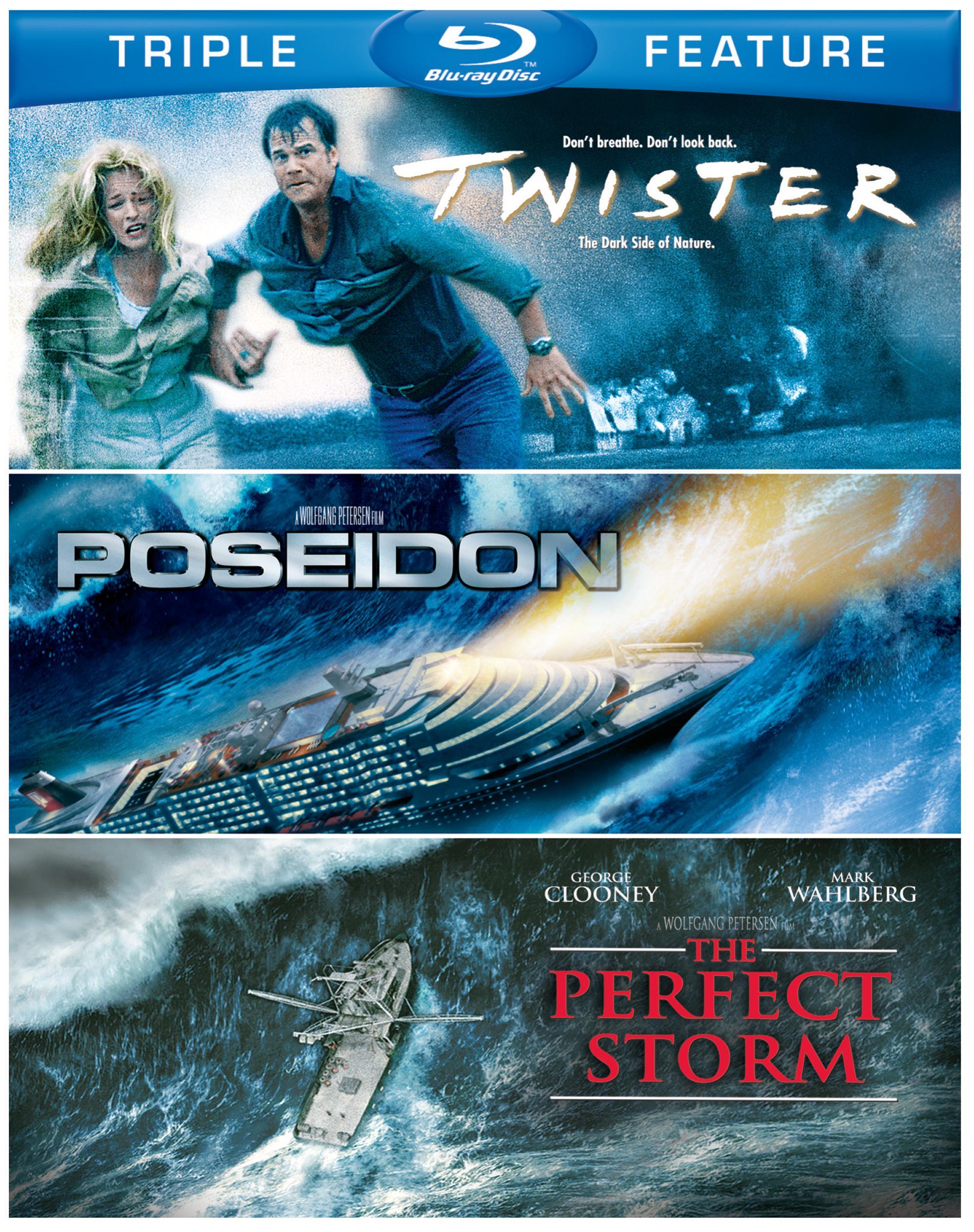Twister/Poseidon/The Perfect Storm (Blu-ray Disc)