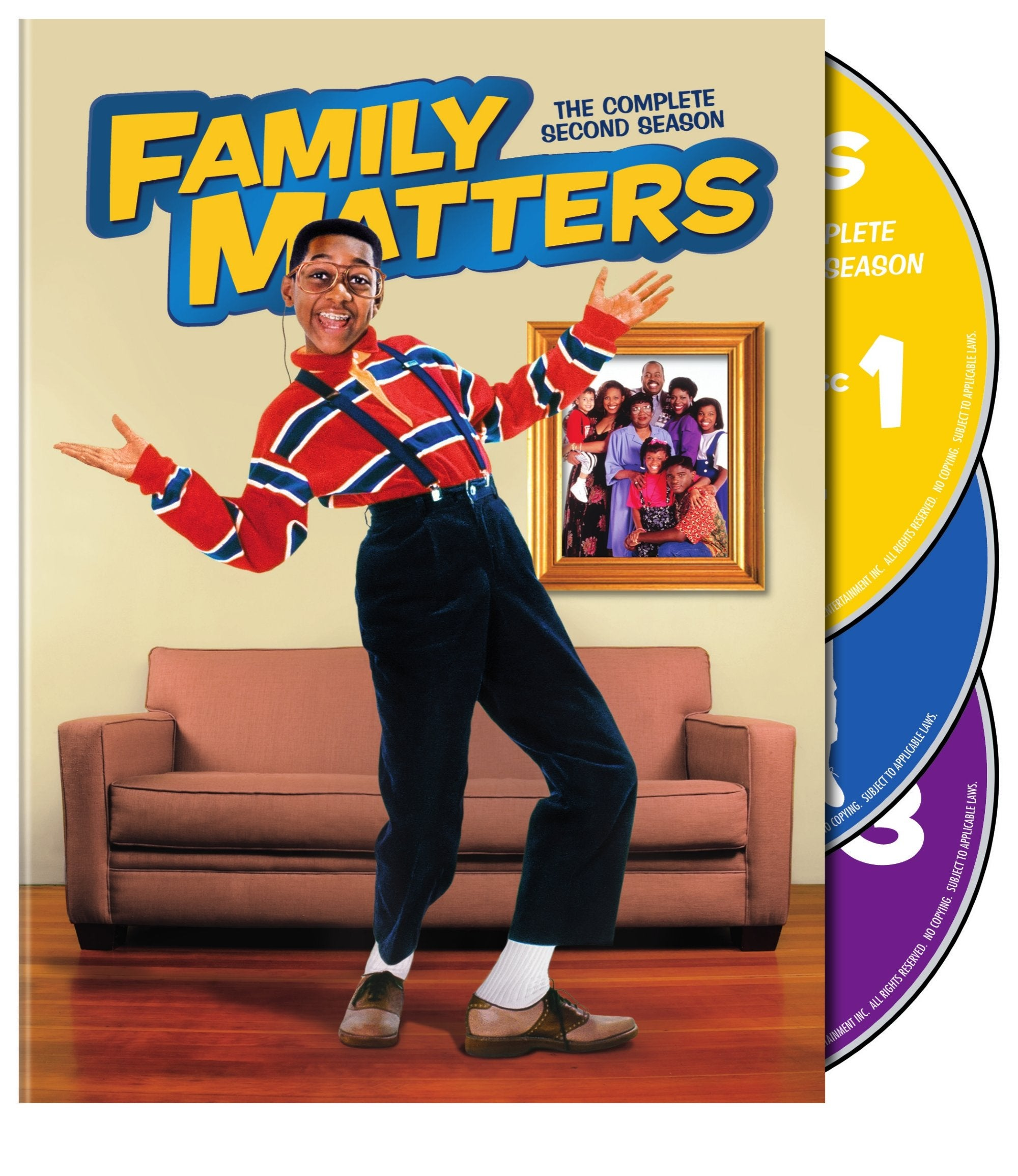 Family Matters: The Complete Second Season (DVD) - Thumbnail 0