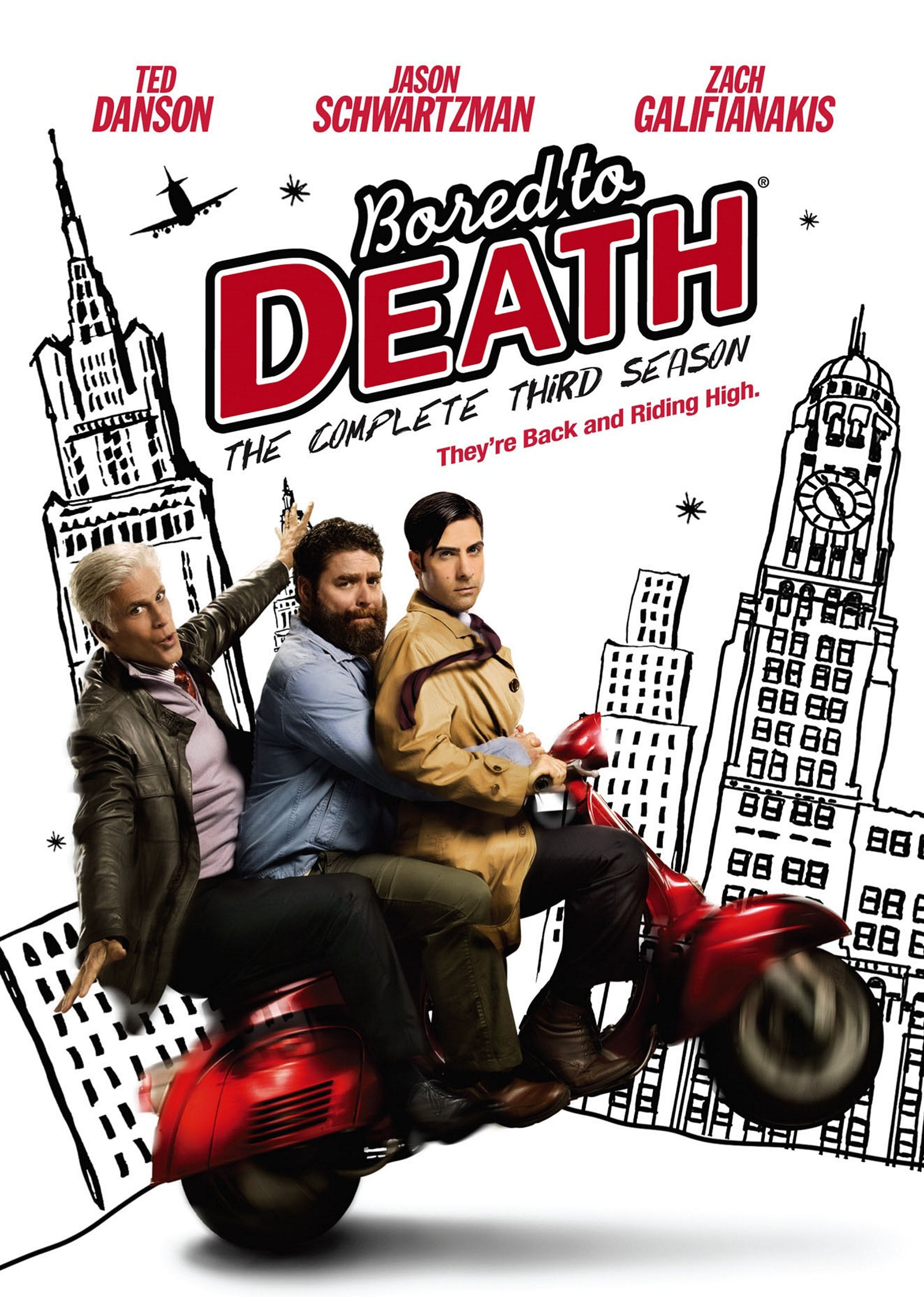 Bored To Death: The Complete Third Season (DVD)