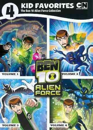4 Kid Favorites: Ben 10 Alien Force (DVD)