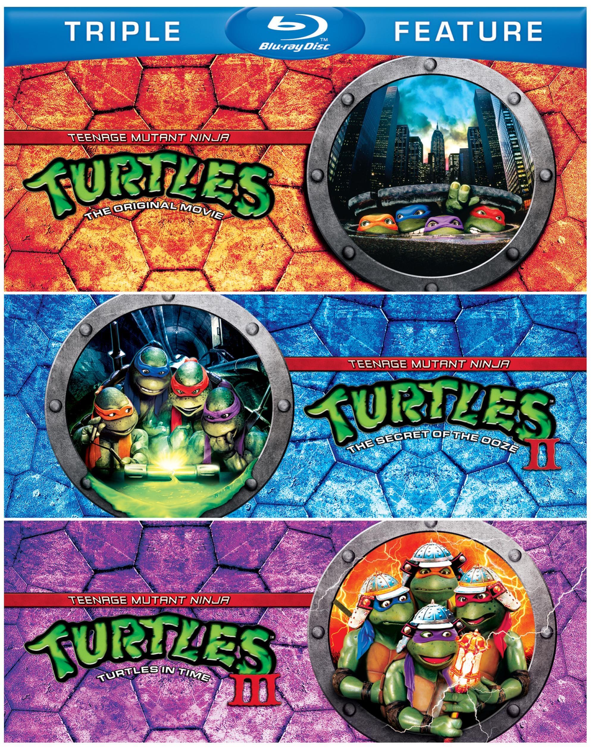 Teenage Mutant Ninja Turtles/Teenage Mutant Ninja Turtles 2/Teenage Mutant Ninja Turtles 3 (Blu-ray Disc)