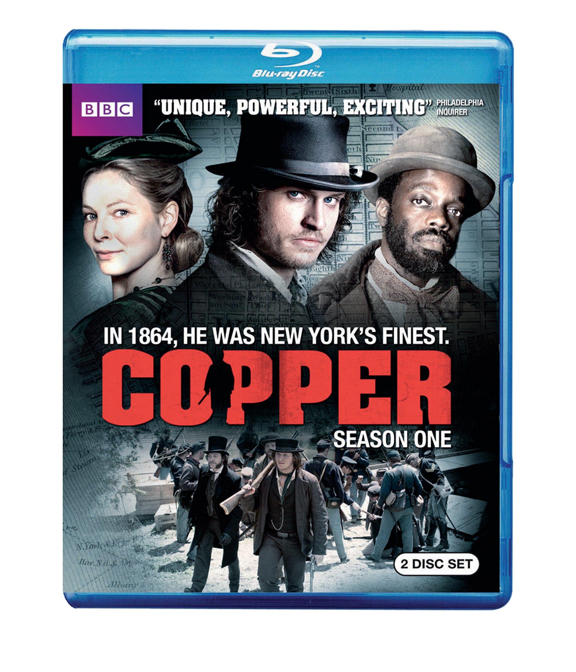 Copper: Season One (Blu-ray Disc)