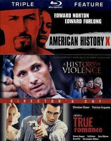 American History X/History Of Violence/True Romance (Blu-ray Disc)