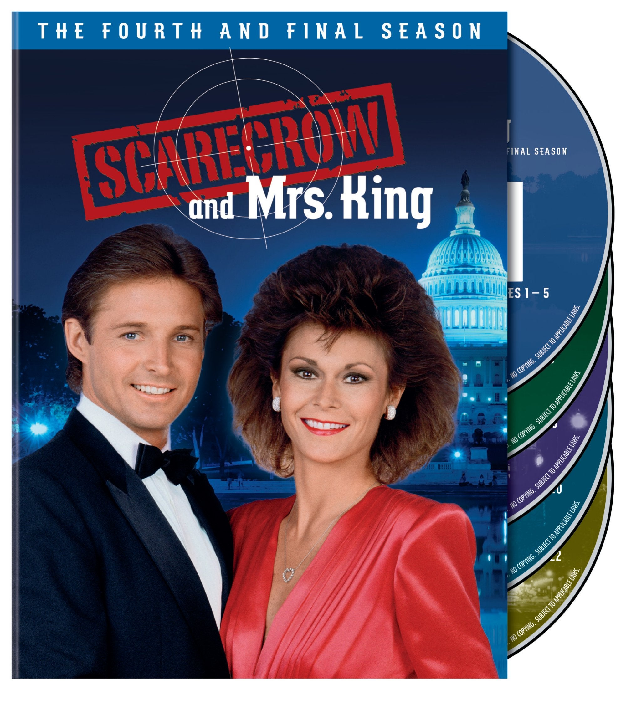 Scarecrow And Mrs. King: The Complete Fourth Season (DVD)