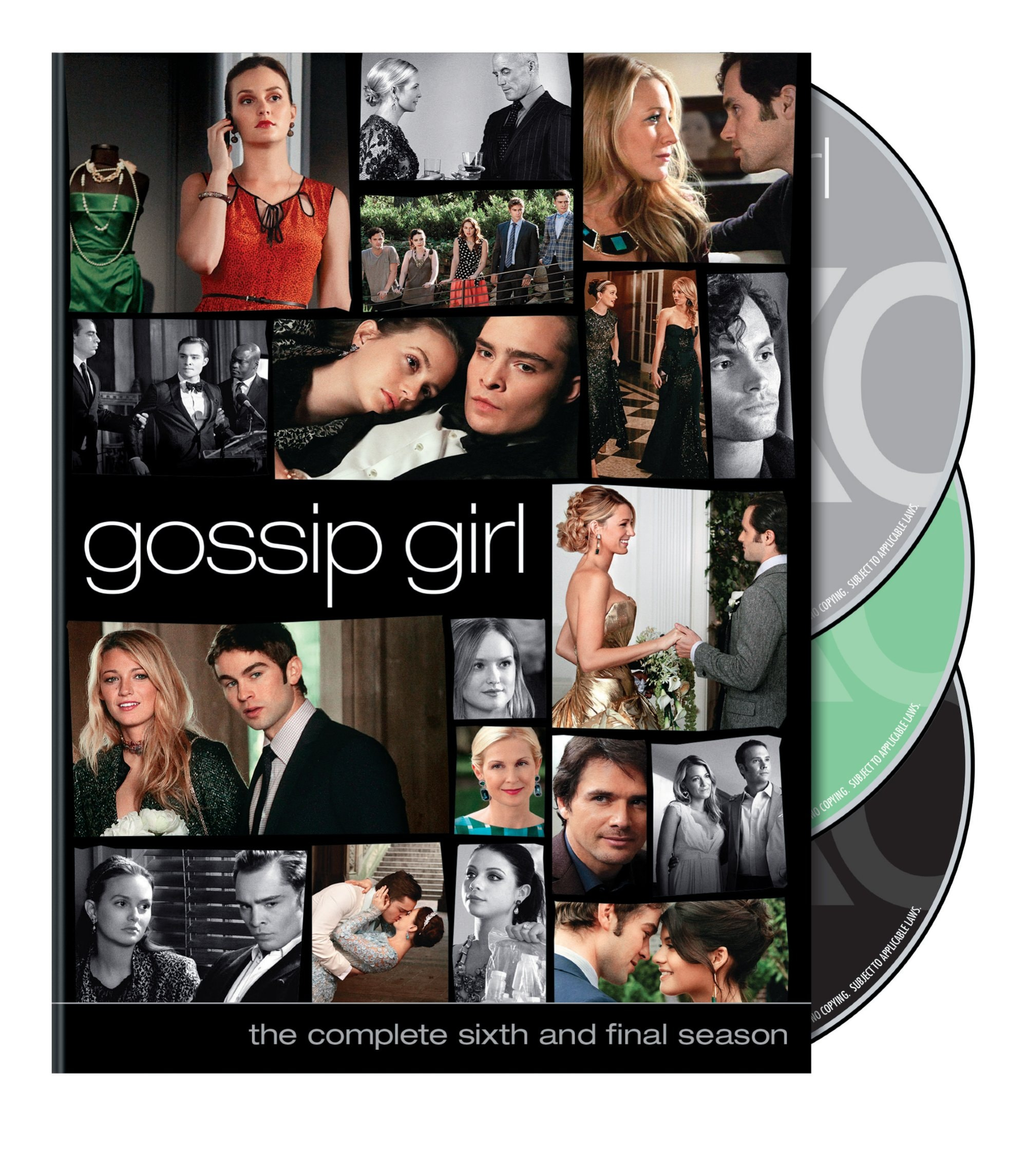 Gossip Girl: The Complete Sixth Season (DVD) - Thumbnail 0