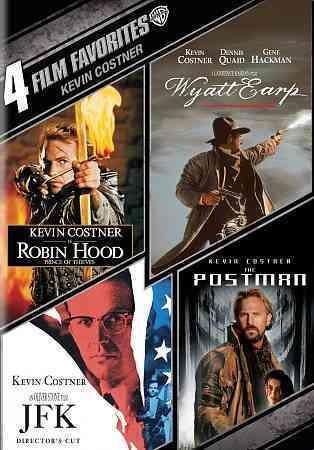 4 Film Favorites: Kevin Costner Drama (DVD)