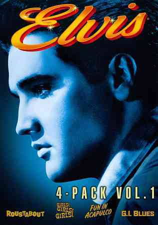 Elvis 4 Movie Collection Vol. 1 (DVD) - Thumbnail 0