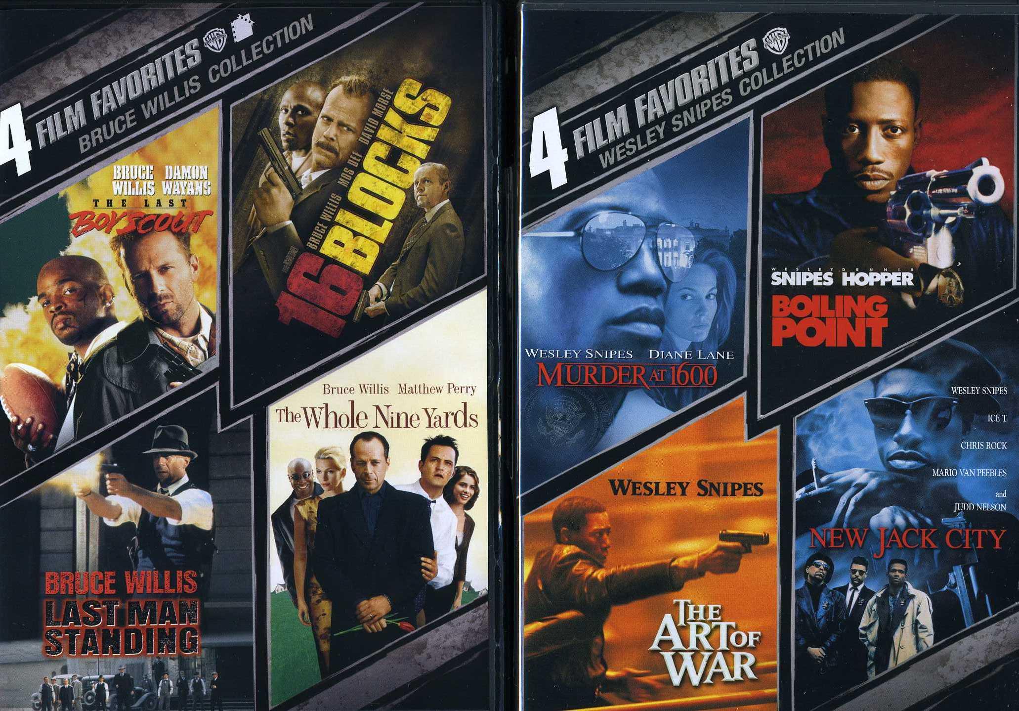 4FF Bruce Willis/Wesley Snipes (DVD)