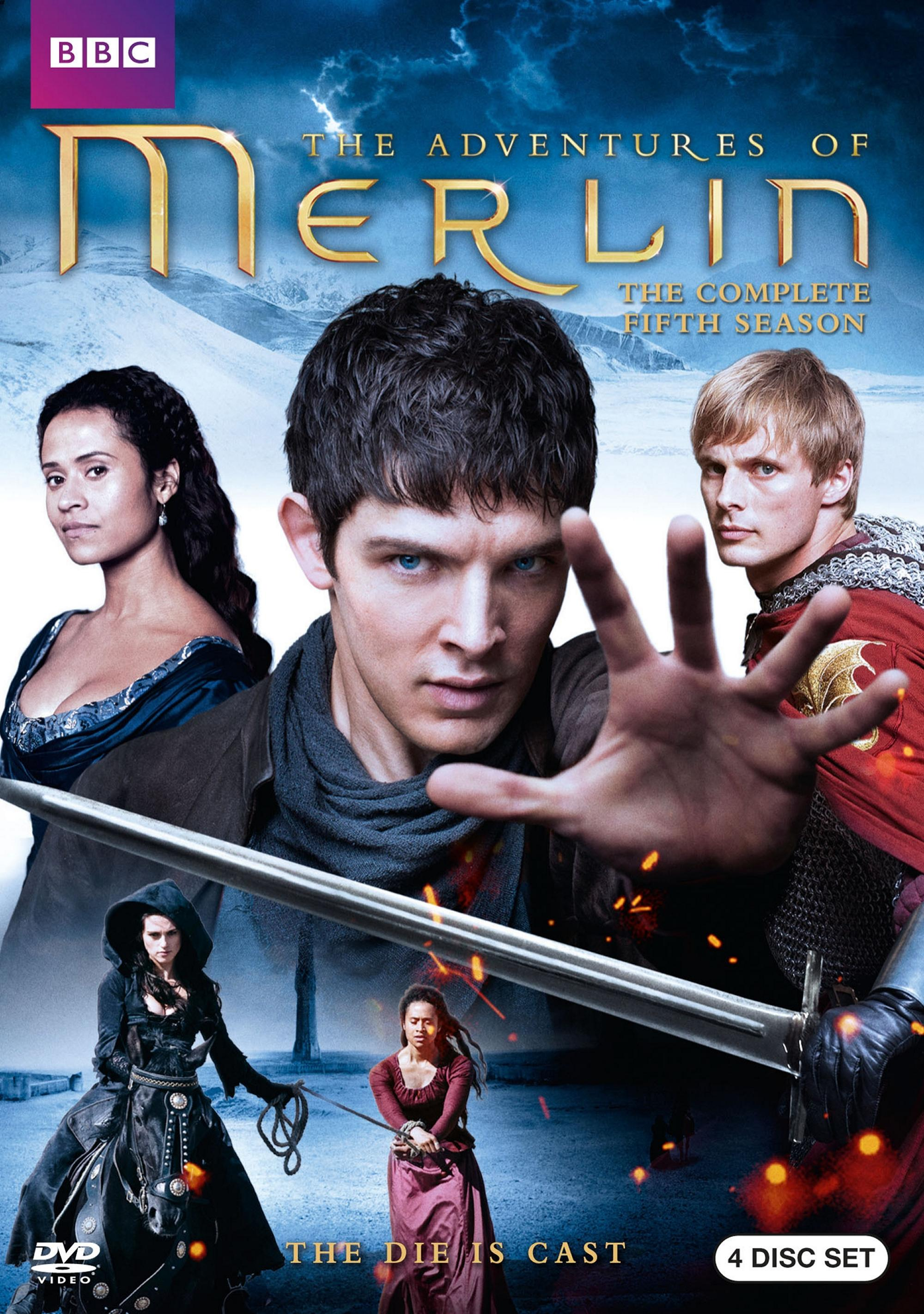 Merlin: The Complete Fifth Season (DVD)