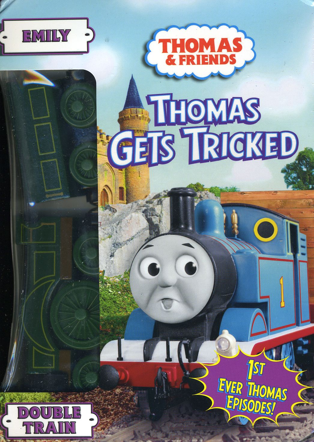 Thomas & Friends: Thomas Gets Tricked (With Train) (DVD)