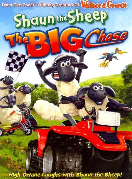 Shaun The Sheep: The Big Chase (DVD)