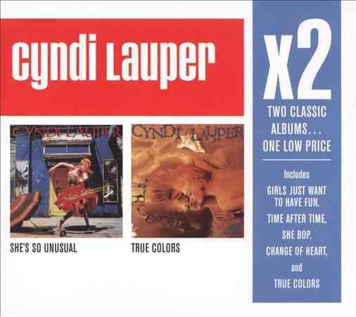 Cyndi Lauper - X2 (She's So Unusual/True Colors)