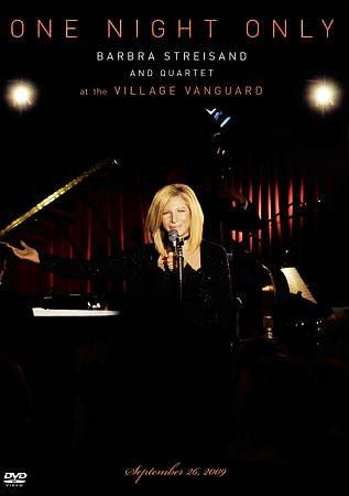 One Night Only- Barbra Streisand and Quartet at The Village Vanguard (DVD)