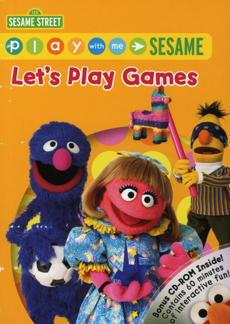 Play With Me Sesame: Let's Play Games (DVD)