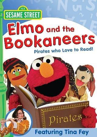 Elmo And The Bookaneers: Pirates Who Love To Read (DVD)