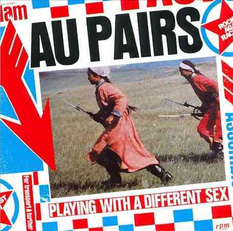 Au Pairs - Playing With A Different Sex (Pink Vinyl)