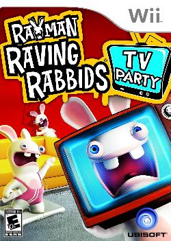 Wii - Rayman Raving Rabbids TV Party