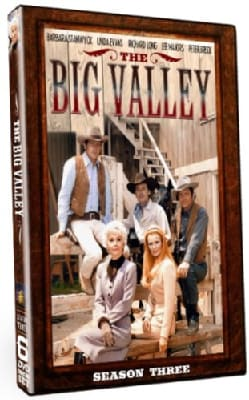 The Big Valley Season 3 (DVD)