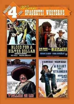 Blood For A Silver Dollar/10,000 Dollars For A Massacre/Seven Dollars On The Red/A Bullet For A Stranger (DVD)