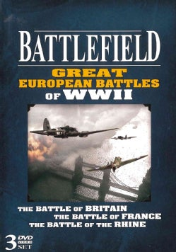Battlefield Great European Battles Of WWII (DVD)