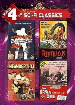 The Amazing Transparent Man/Reptilicus/Neanderthal Man/The Brain That Wouldn't Die (DVD)