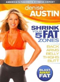 Denise Austin Shrink Your 5 Fat Zones (DVD)