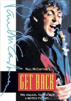 Paul McCartney's Get Back World Tour Movie (DVD)