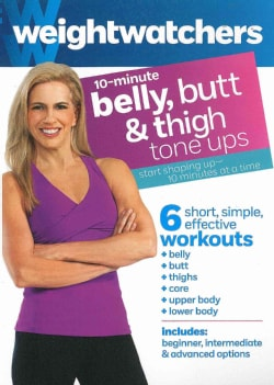 Weight Watchers: 10-Minute Belly, Butt & Thighs Tone Ups (DVD)