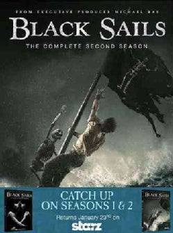 Black Sails: Seasons 1 & 2 (DVD)