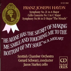 Schwarz/Scottish Chamber Orchestra - Haydn:Syms. 21 & 96/Cello Concerto 1