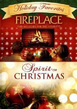 Fireplace Melodies For The Holidays/Spirit of Christmas (DVD)