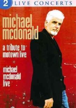 Michael McDonald: Live/A Tribute to Motown Live (DVD)