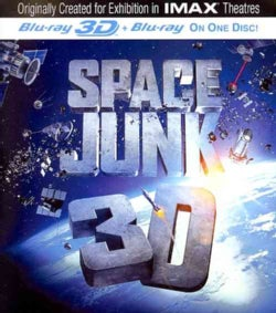 Space Junk 3D (IMAX) (Blu-ray Disc)