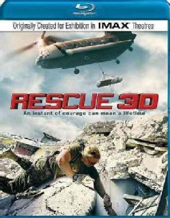 Rescue 3D (IMAX) (Blu-ray Disc)