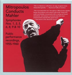 Dimitri Mitropoulos - Symphony Nos. 1, 3, 5, 6, 8, 9, 10